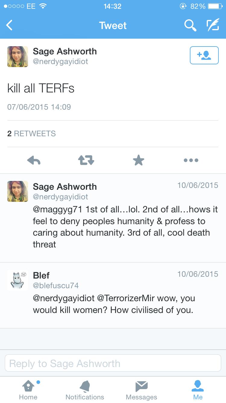Kill all terfs