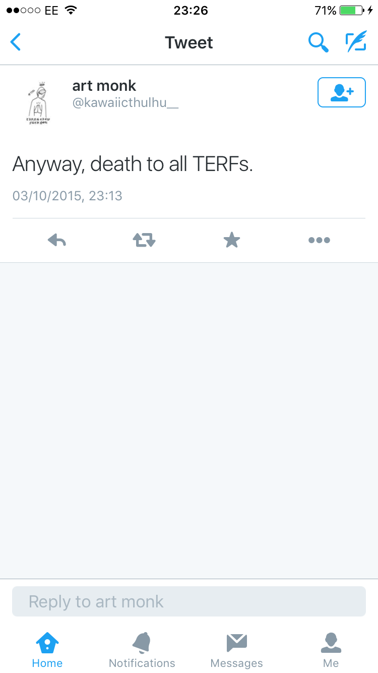 Death to all terfs