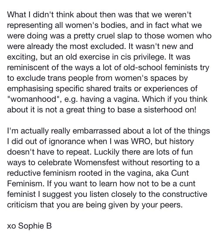 Cunt feminism