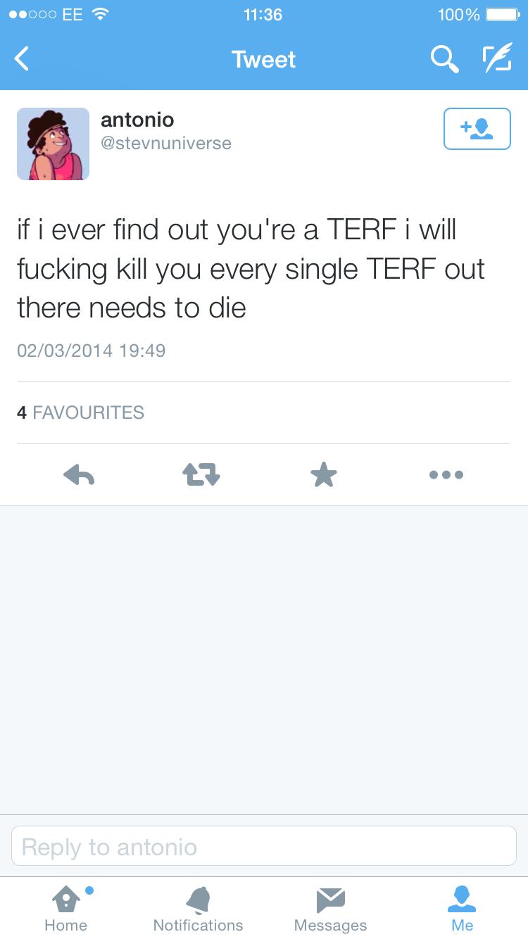 Every terf needs to die