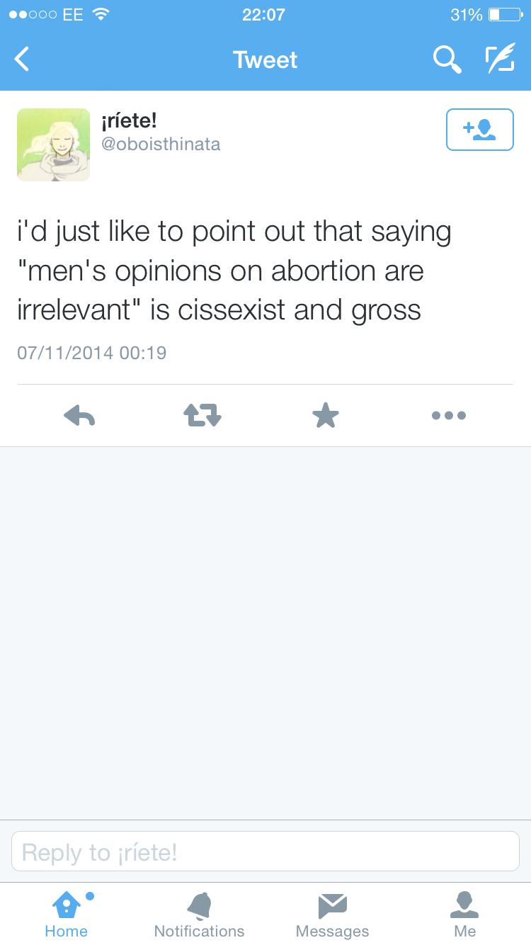 Cissexist and gross