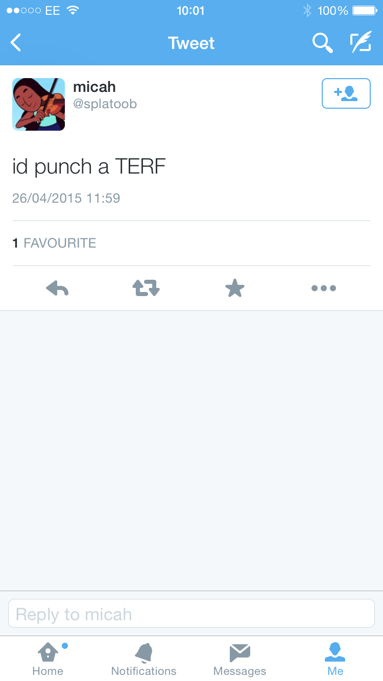 Punch a terf