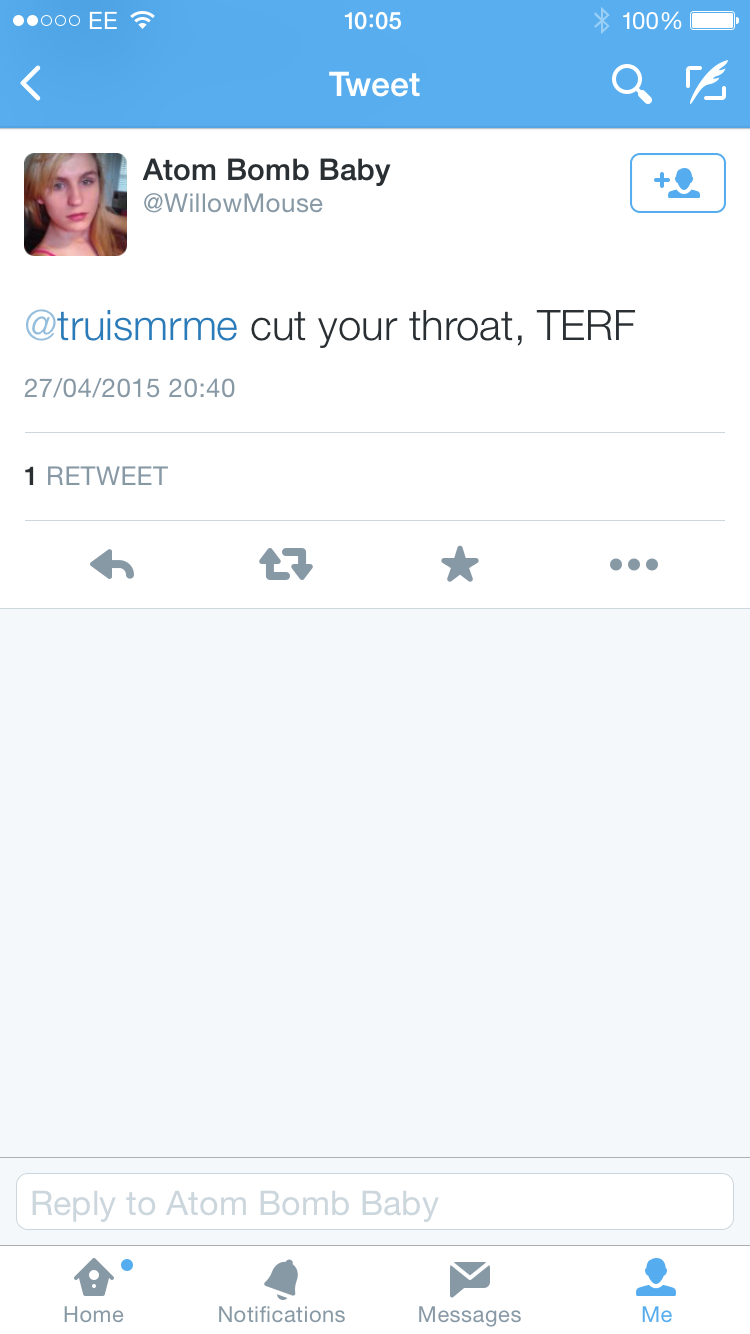 Cut your throat