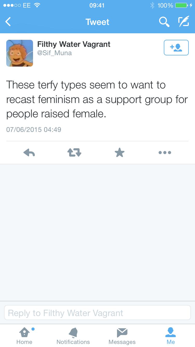 Recast feminism