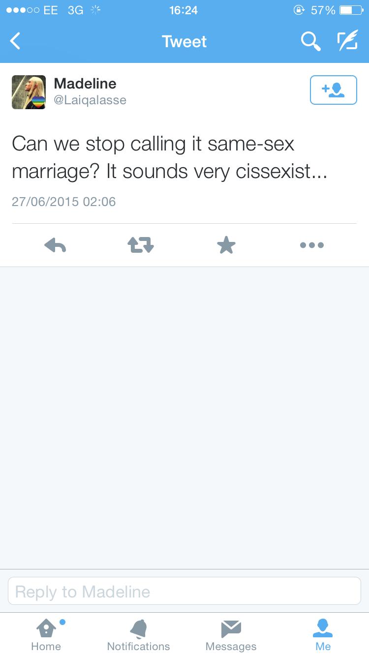 Sounds very cissexist