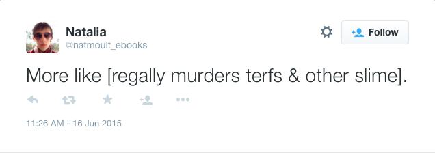 Murder terfs