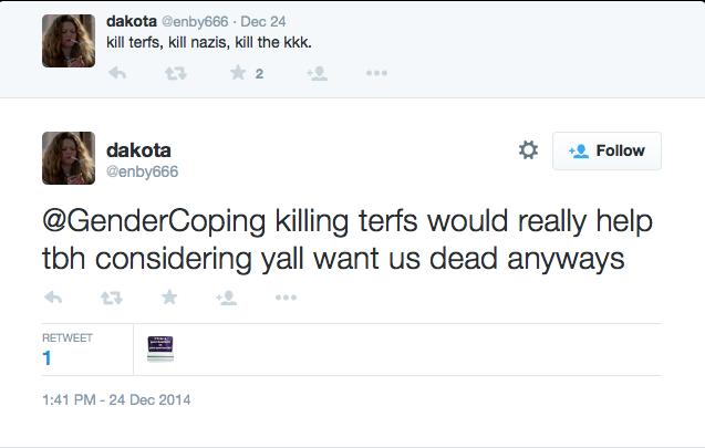 Killing terfs