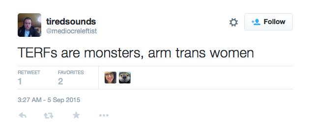 Arm trans women
